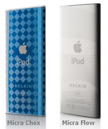 Belkin Micra Chex and Flow iPod nano 4G case