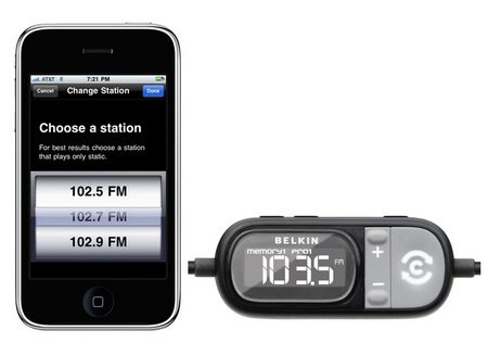 Belkin TuneCast Auto Live GPS-Assisted FM Transmitter