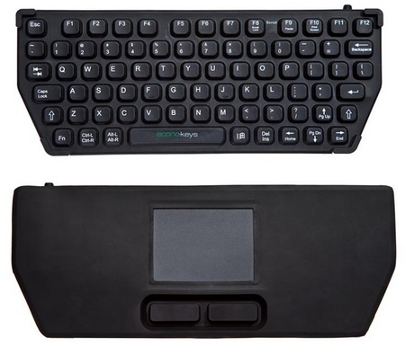 Econo-Keys EK-76-TP Mobile Keyboard with touchpad