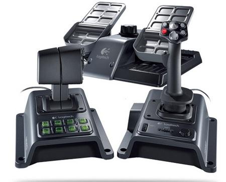 Logitech Flight System G940 Flight Simulation Controller