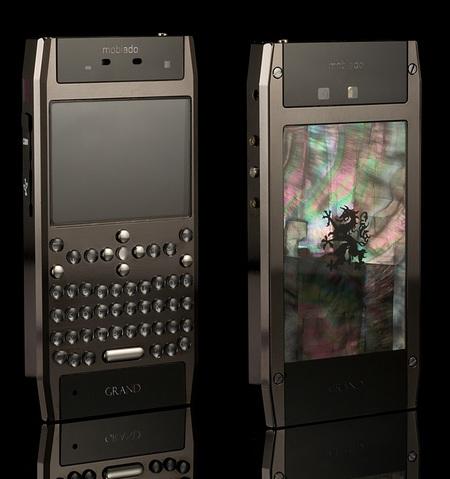 Mobiado Grand 350PRL Luxury QWERTY Phone Black