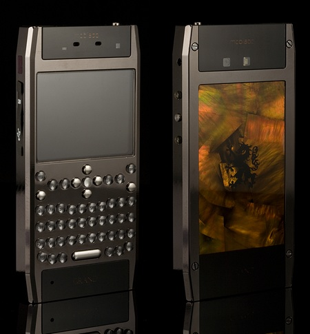 Mobiado Grand 350PRL Luxury QWERTY Phone Gold
