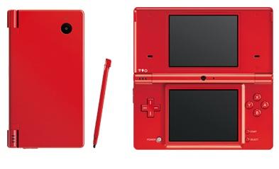 Nintendo Red DSi