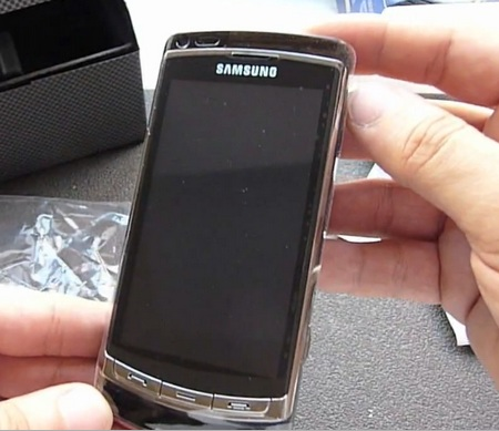 Samsung OmniaHD i8910 Unboxed in Videos