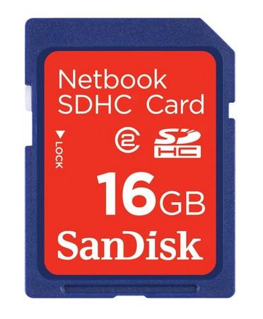 SanDisk Netbook SDHC Memory Card