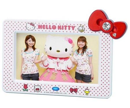 Sanrio Hello Kitty Digital Photo Frames White