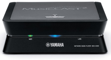 yamaha MusicCAST2 MCX-A300 Amplified Network Music Player