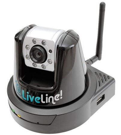 AVC LiveLine Internet Home Surveillance System