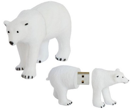 Active Media WWF Polar Bear USB Flash Drive