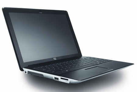 Averatec N3400 Lightweight Aluminum-clad Notebook front