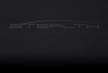 ColorWare Stealth MacBook Pro in matte black stealth number