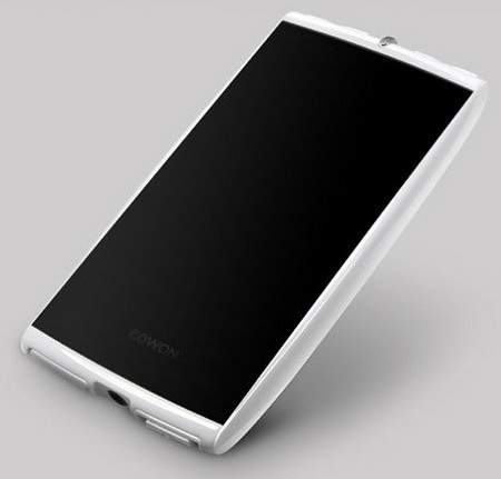 Cowon S9 White Edition angle