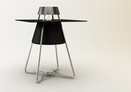 Cox Speaker Table