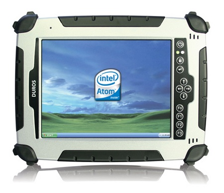 Duros 8404 Rugged Tablet PC with Atom