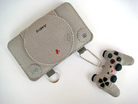 Felt Playstation Case for iPhone