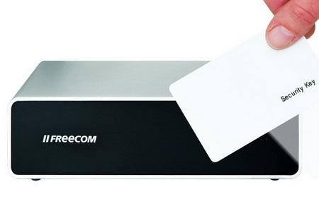 Freecom Hard Drive Secure with RFID Security System