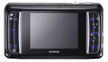FujiFilm FinePix REAL 3D W1 Digital Camera back