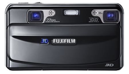FujiFilm FinePix REAL 3D W1 Digital Camera front