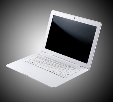 GB Freepad X1200 12.1-inch Netbook white open