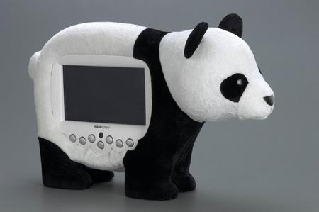HANNSpree Animal Display panda