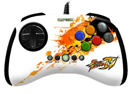 Mad Catz Street Fighter IV FightPad Comic-con special edition