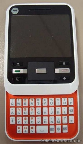 Motorola A45 Murano QWERTY Slider front keyboard open
