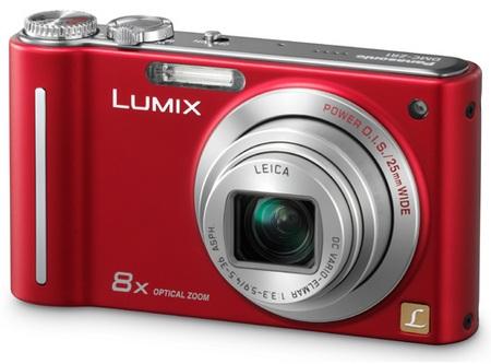 Panasonic Lumix DMC-ZR1 Slim Camera front