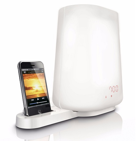 Philips HF3490 Wake-up Light also an iPod dock