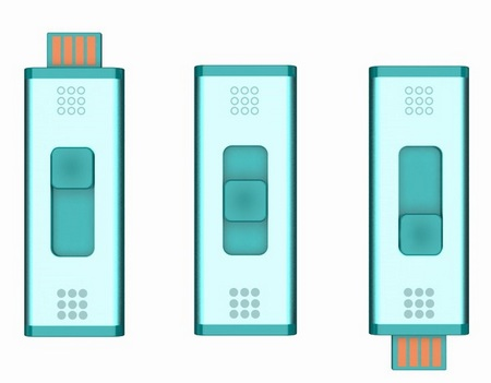 Quirky Split Stick double-sided USB drive 1