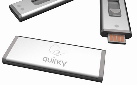 Quirky Split Stick double-sided USB drive back
