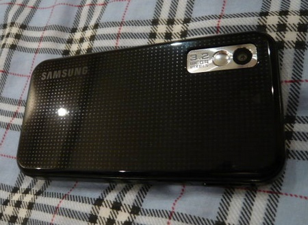 Samsung Star S5230 Unboxed back