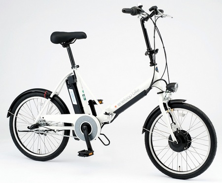 Sanyo eneloop bike CY-SPJ220 electric hybrid bike