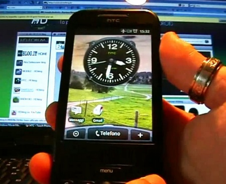 T-Mobile G1 Running HTC Sense UI