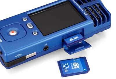Zoom Q3 Handy Video Recorder  sdhc