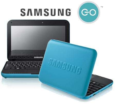 samsung GO N310 Netbook Mint Blue