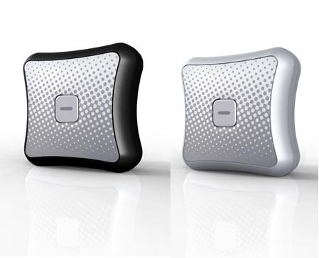 Amber Alert GPS 2G Child Tracking Device silver black