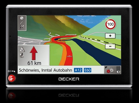 Becker Traffic Assist Z205 GPS Device