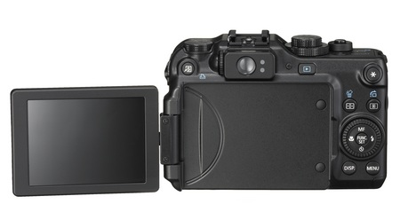 Canon PowerShot G11 Digital Camera back