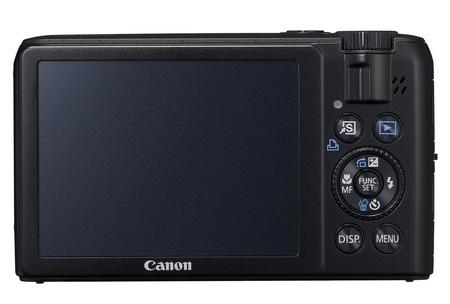 Canon PowerShot S90 Digital Camera back