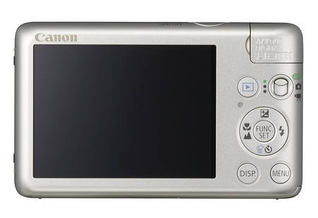 Canon PowerShot SD940 IS Digital ELPH Camera back