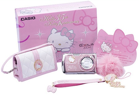 Casio Exilim EX-Z2 Hello Kitty 35 Year Anniversary Edition package