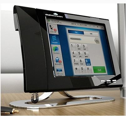 Cloud Telecomputers Glass Platform for Business Desktop Smartphone