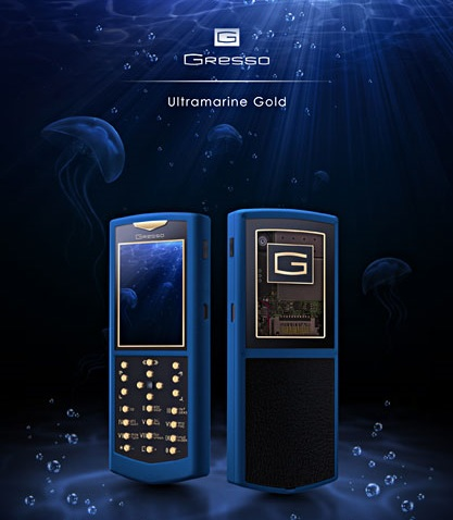 Gresso Ultramarine Gold 2