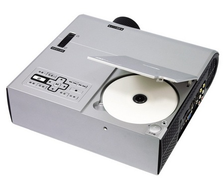 Kumazaki-Aim NRT-350 Projector with built-in DVD Player