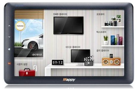M&Soft Mappy AP1 Navigation Device