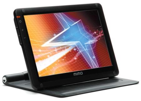 Nanovision mimo 710-S Mobile Slider USB LCD Monitor front