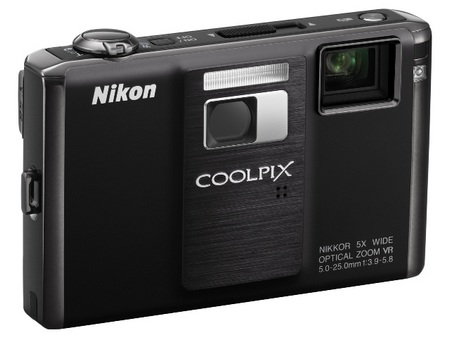 Nikon CoolPix S1000pj Camera with Built-in Projector angle right