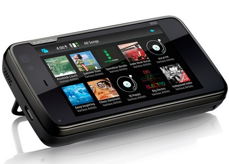 Nokia N900 Maemo Tablet music player