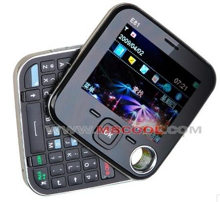 Nokla E81 QWERTY Phone 4