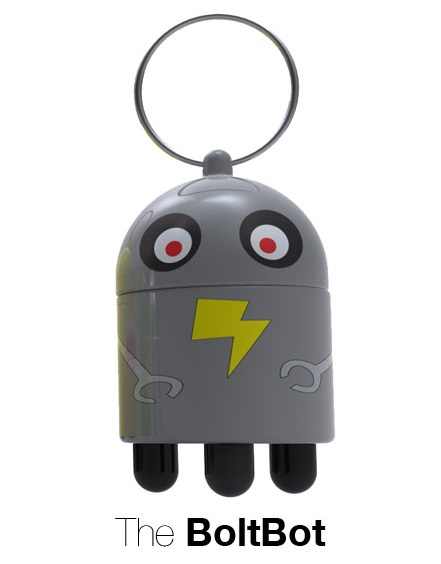 Quirky DigiDudes BoltBot